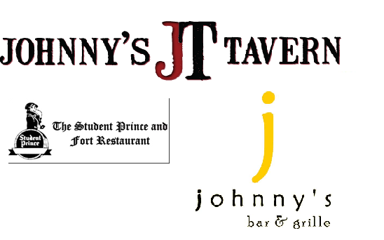 The Student Prince, Johnny's Bar & Grille, Johnny's Tavern, IYA Sushi and Noodle Kitchen