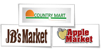 Country Mart and Apple Market